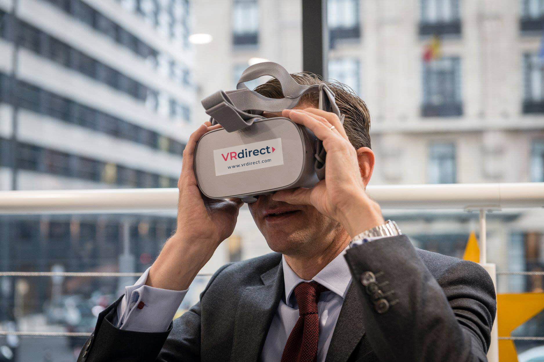 EuropeWorks – VR goes beyond visualization of projects