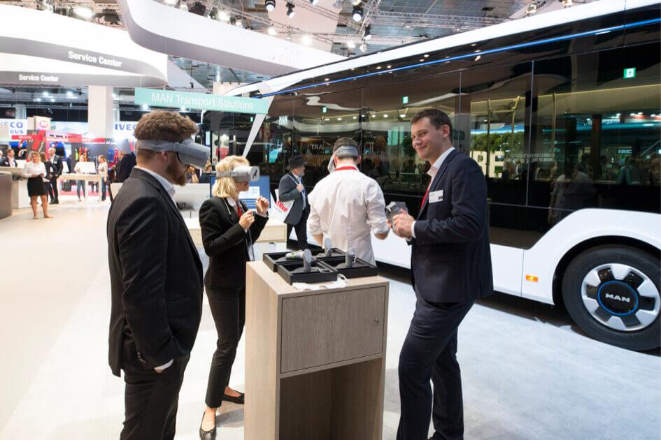 MAN takes new virtual paths at Busworld