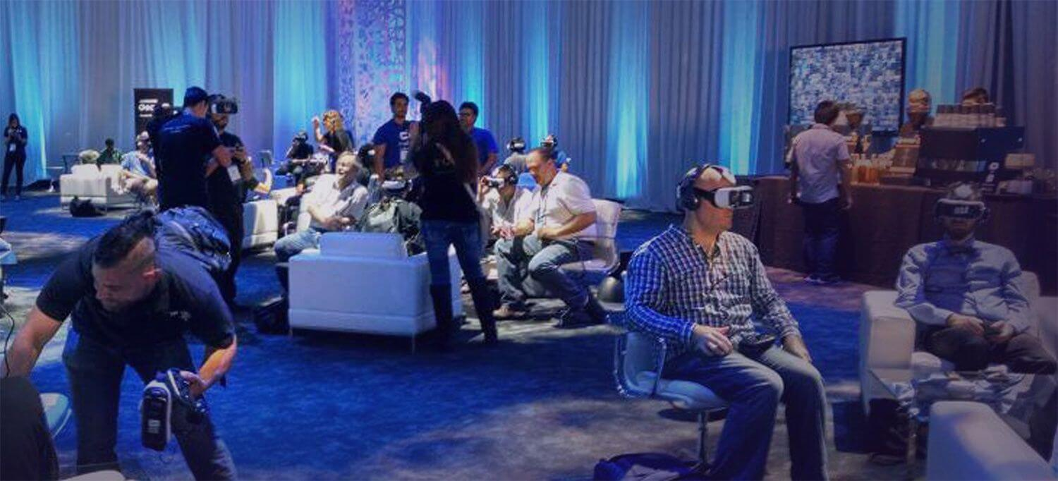 DMEXCO VR Lounge powered by VRdirect