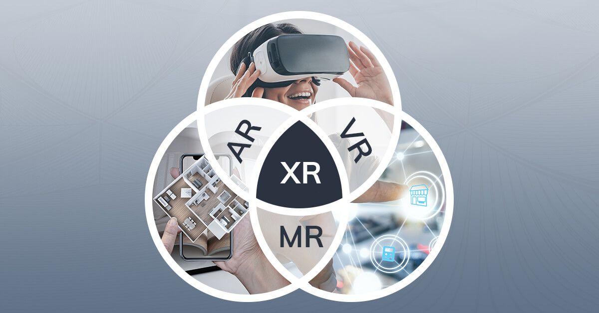 What is XR vs AR vs VR vs MR?