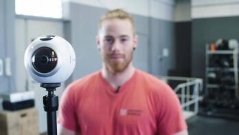 Crossfit 360 Camera Focus