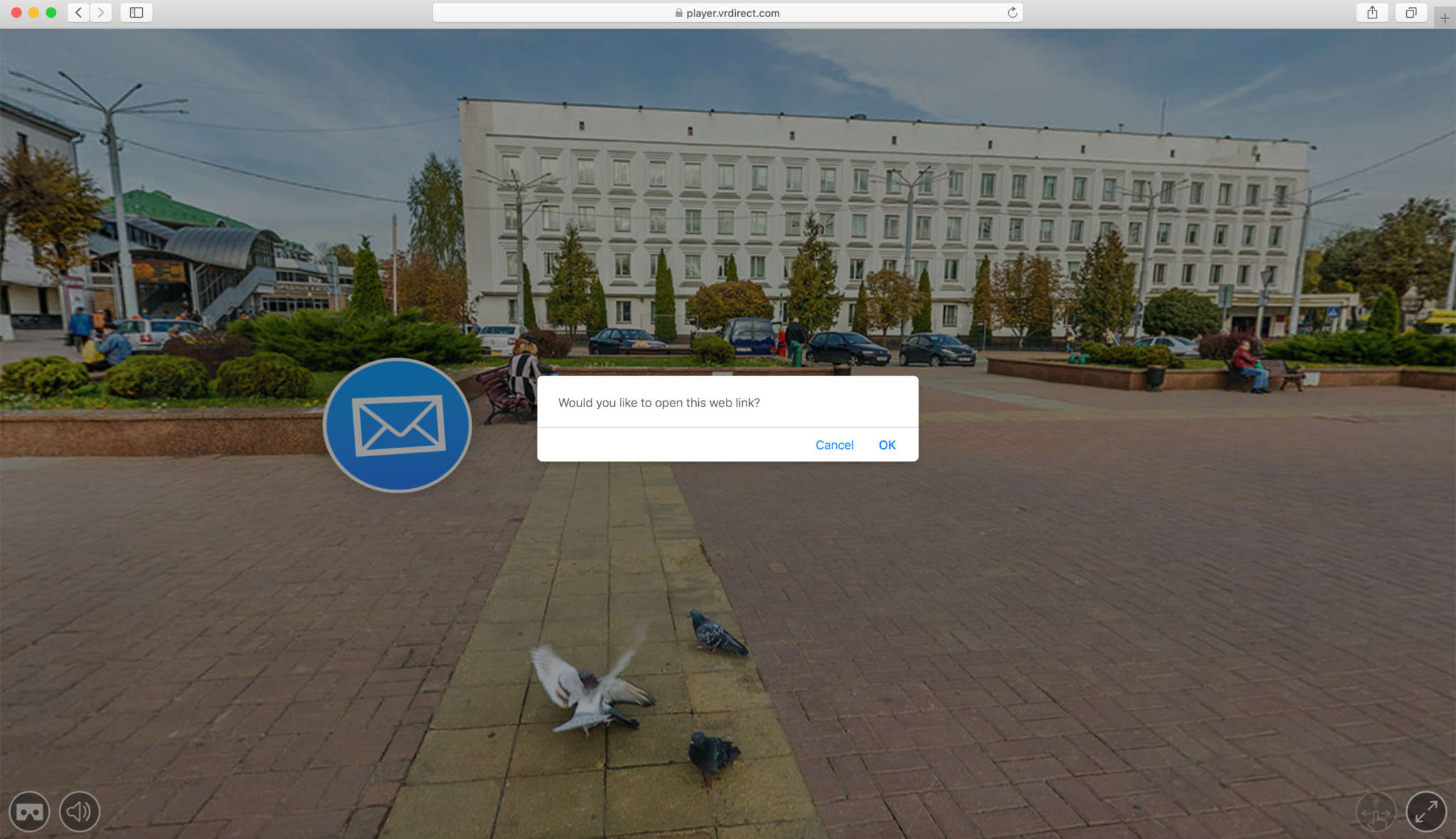 8. After uploading & publishing, check your VR project in your device