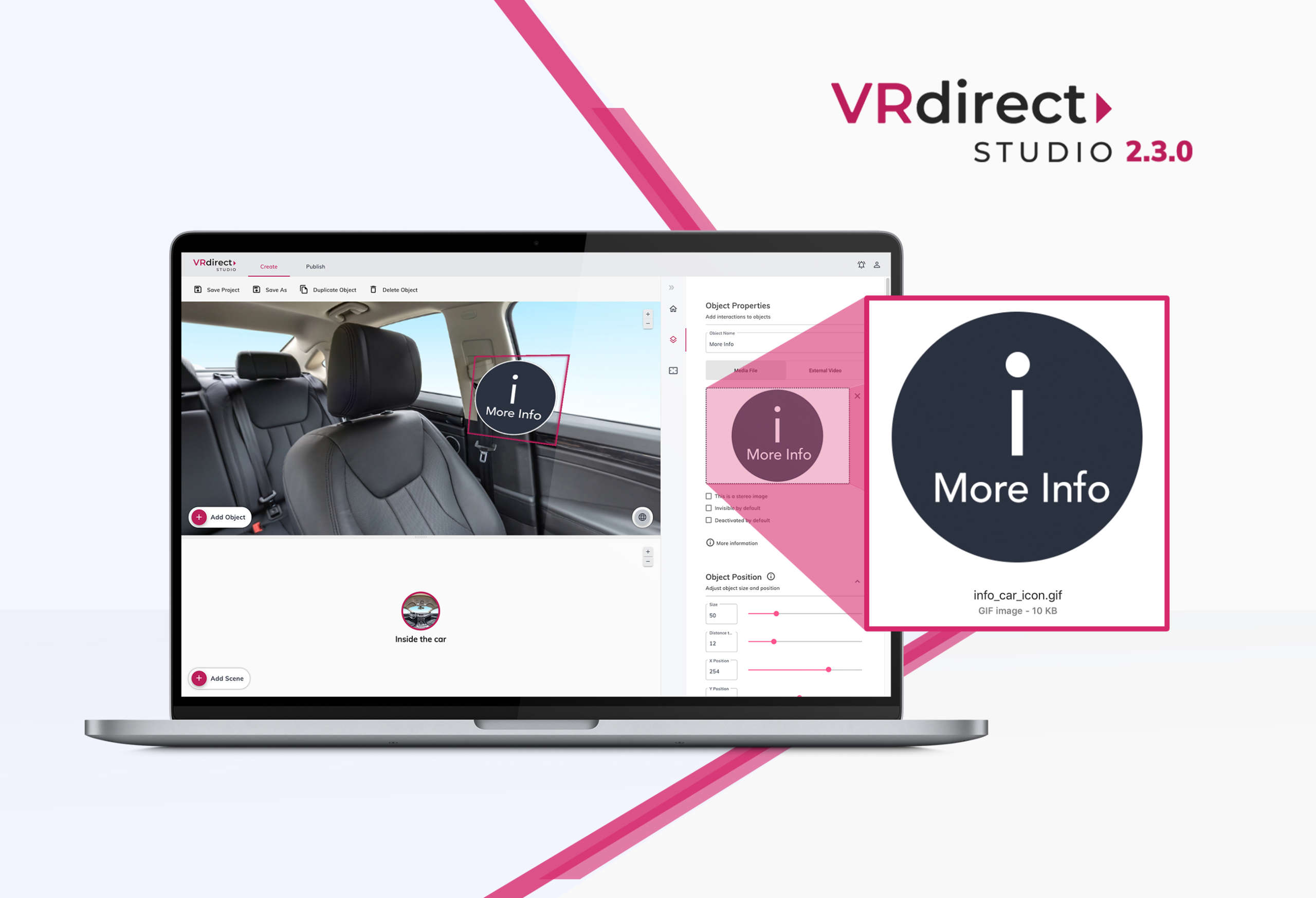 VRdirect 2.3.0 : New version enables widespread use of virtual reality in companies