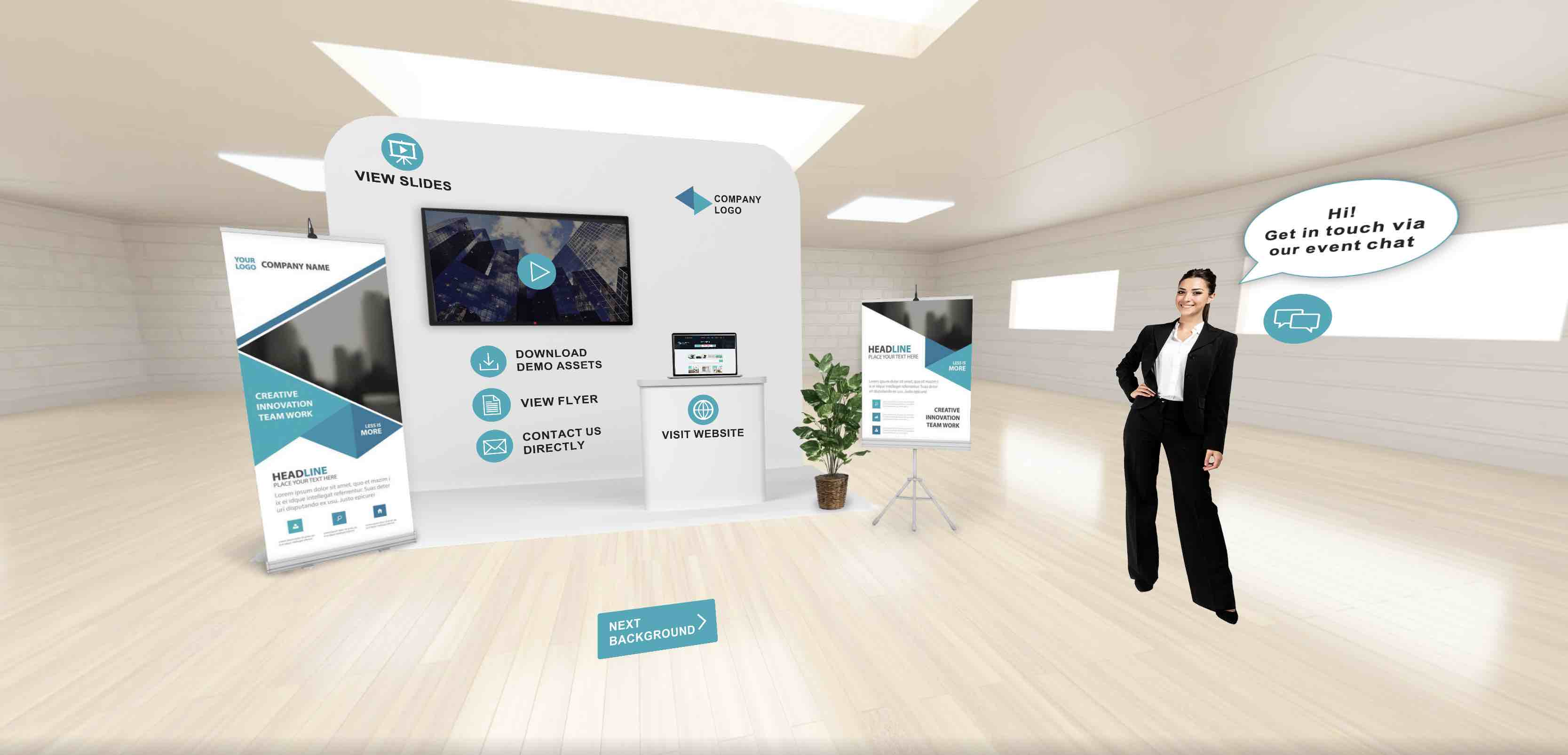 VRdirect Virtual Event Booth Template 1 1024x493