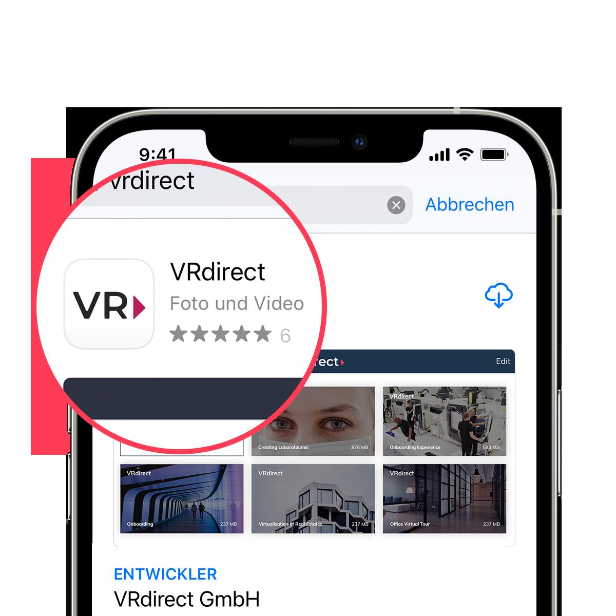 VRdirect App Unlimited Access