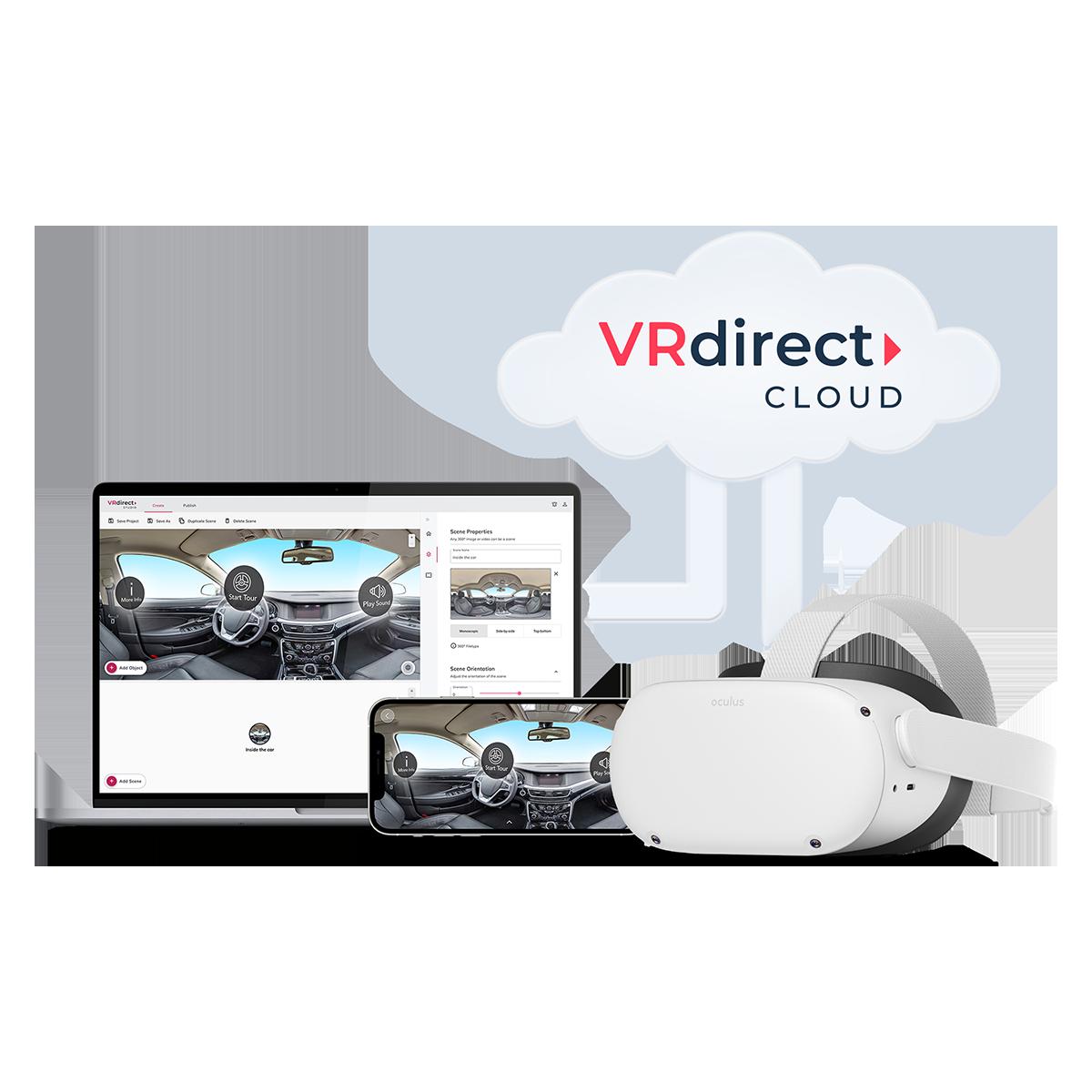 VRdirect Cloud – Features