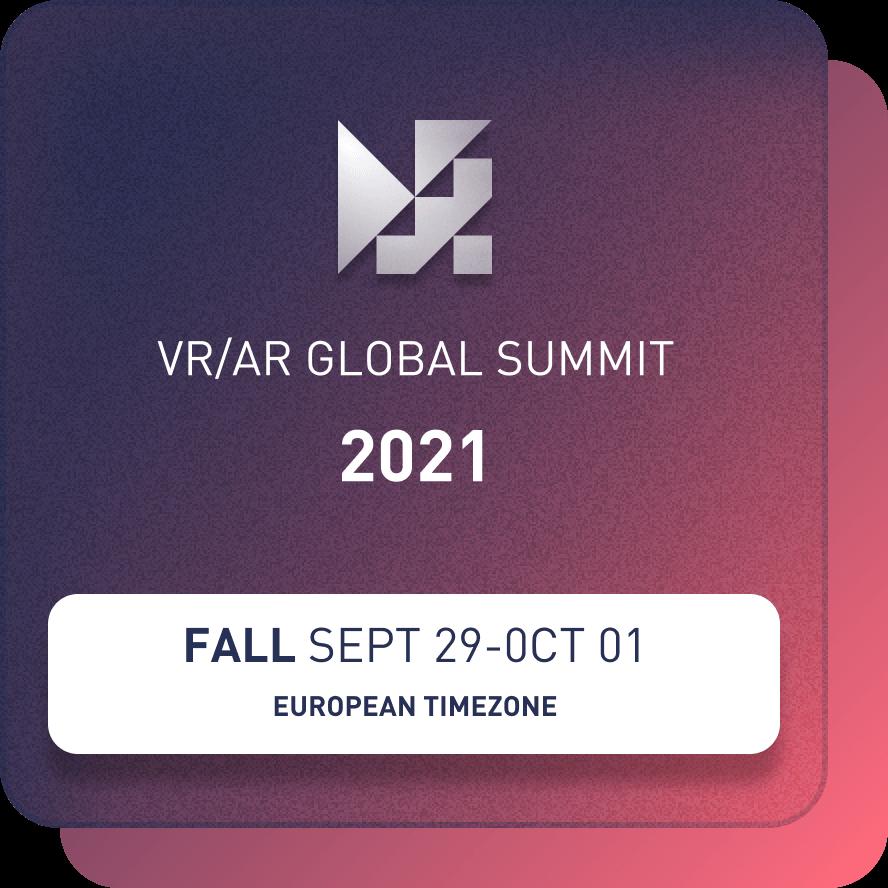 VR/AR Global Summit 2021