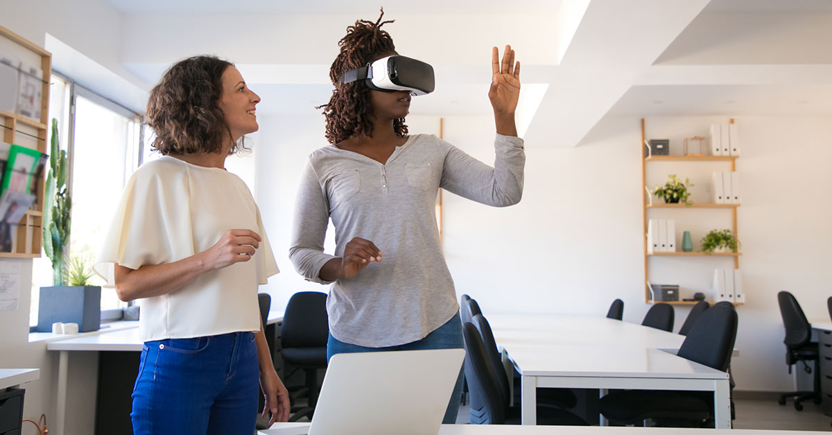 What is Virtual Reality content?