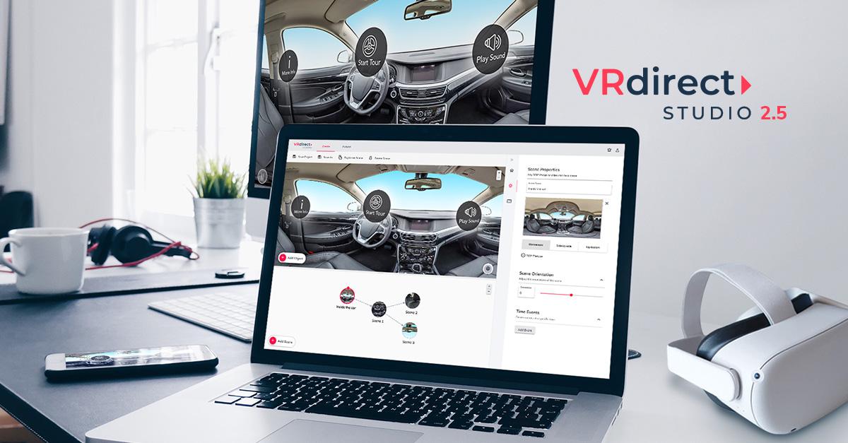 VRdirect Studio Release 2.5