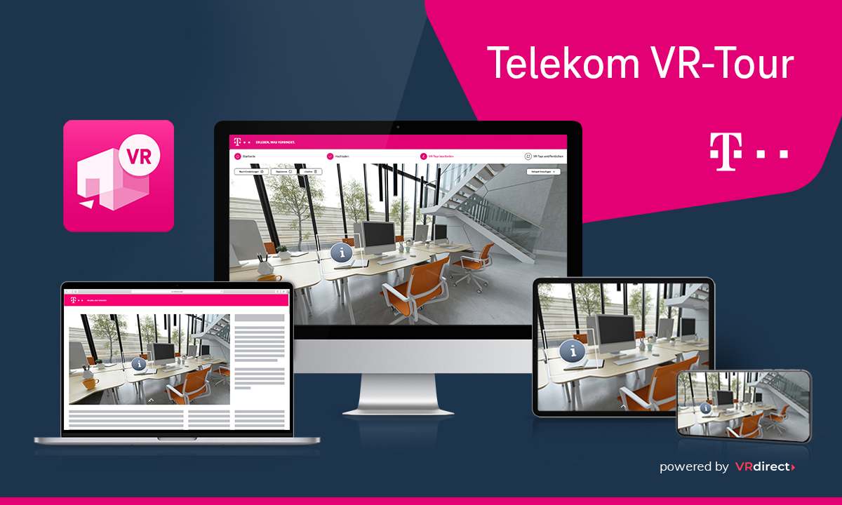 Telekom VR-Tour powered by VRdirect