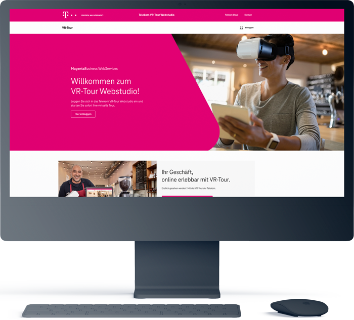 VR Tour Telekom 1